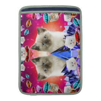 galaxy cat in diamond sleeve for MacBook air