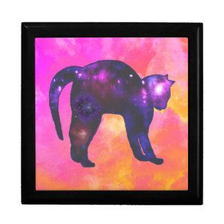 Galaxy Cat Keepsake Box