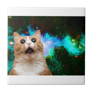 GALAXY CAT TILE