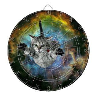 Galaxy Cat Universe Kitten Launch Dart Boards