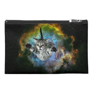 Galaxy Cat Universe Kitten Launch Travel Accessory Bag