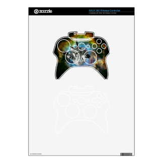 Galaxy Cat Universe Kitten Launch Xbox 360 Controller Decal