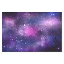 Galaxy Celestial Stars Blue & Purple Space Nebula Tissue Paper