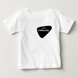Galaxy City Blue Crescent Patch Tee Shirt