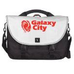 Galaxy City Plain Laptop Commuter Bag