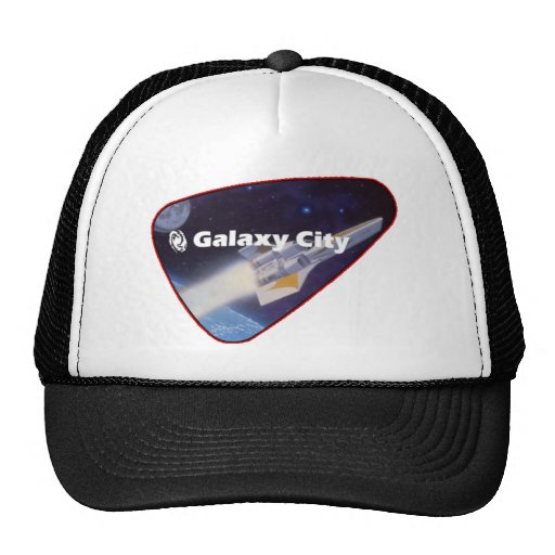 Galaxy City Starfighter Patch Mesh Hats