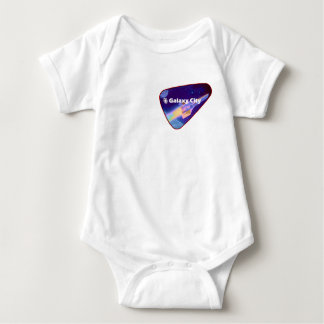 Galaxy City Starfighter Saturation Patch Baby Bodysuit