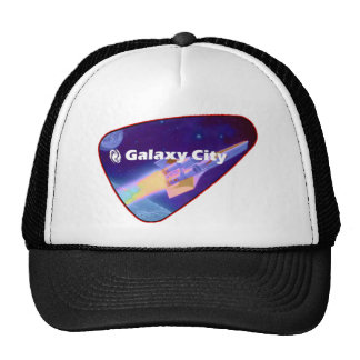 Galaxy City Starfighter Saturation Patch Trucker Hat