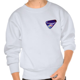 Galaxy City Starfighter Saturation Patch Pullover Sweatshirt