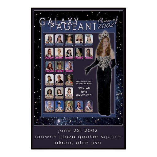 Galaxy Class of 2002 Poster