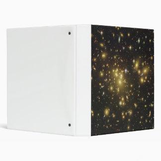 Galaxy Cluster Abell 1689 in Constellation Virgo 3 Ring Binder