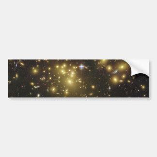 Galaxy Cluster Abell 1689 in Constellation Virgo Bumper Sticker