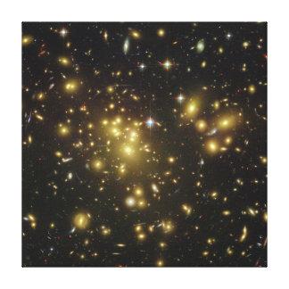 Galaxy Cluster Abell 1689 in Constellation Virgo Canvas Print