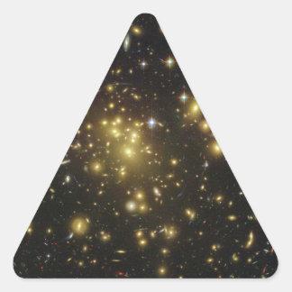 Galaxy Cluster Abell 1689 in Constellation Virgo Triangle Sticker