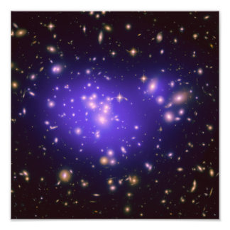 Galaxy Cluster Abell 1689 Photo Art