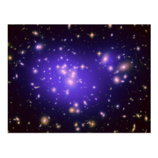 Galaxy Cluster Abell 1689 Postcard