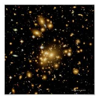 Galaxy Cluster Abell 1689 Print