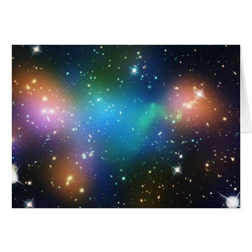 Galaxy Cluster Abell 520 Card