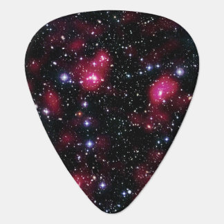 Galaxy Cluster Abell 901/902 Guitar Pick