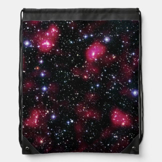 Galaxy Cluster Abell 901/902 Hubble Space Photo Drawstring Bag
