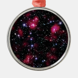 Galaxy Cluster Abell 901/902 Hubble Space Photo Metal Ornament