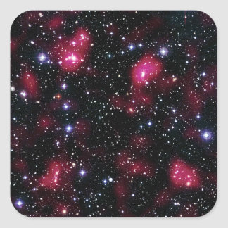 Galaxy Cluster Abell 901/902 Square Sticker