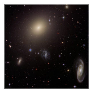 Galaxy Cluster Abell S0740 Poster