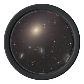 Galaxy Cluster Abell S0740 Set Of Poker Chips