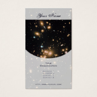 Galaxy Cluster and Gravitational Lens Abell 1689 Business Card
