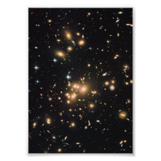 Galaxy Cluster and Gravitational Lens Abell 1689 Photo Art
