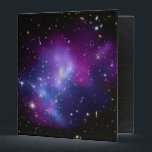 """Galaxy Cluster Avery Binder<br><div class=""""desc"""">Galaxy Cluster MACS J0717 thanks to NASA and Hubble program. This small space photo can be transferred to many gifts. Customize with a personalized text message to create a unique gift.</div>"""