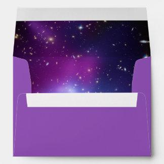 Galaxy Cluster Inside Envelope