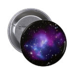 Galaxy Cluster MACS J0717 2 Inch Round Button