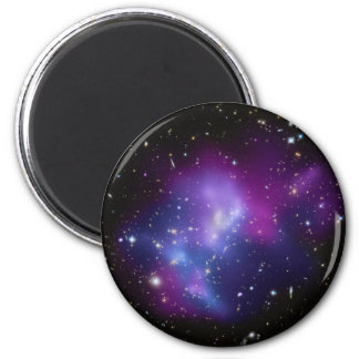Galaxy Cluster MACS J0717 2 Inch Round Magnet