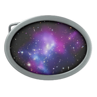 Galaxy Cluster MACS J0717 Oval Belt Buckles