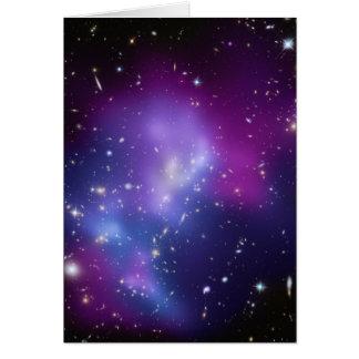 Galaxy Cluster MACS J0717 Greeting Card