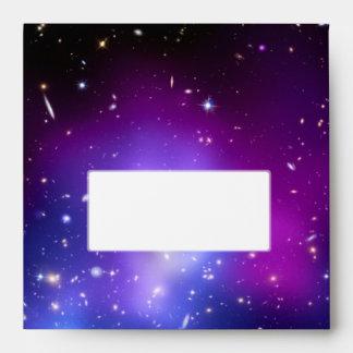 Galaxy Cluster MACS J0717 (Hubble Telescope) Envelopes
