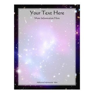 Galaxy Cluster MACS J0717 (Hubble Telescope) Letterhead