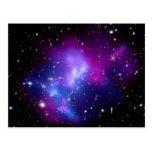 Galaxy Cluster MACS J0717 (Hubble Telescope) Post Card