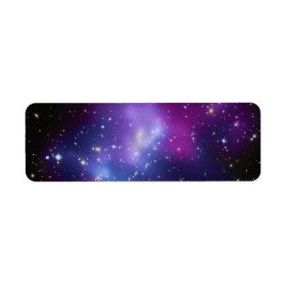 Galaxy Cluster MACS J0717 Return Address Label