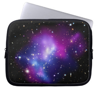 Galaxy Cluster MACS J0717 Outer Space Photo Computer Sleeve