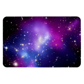 Galaxy Cluster MACS J0717 Outer Space Photo Magnet