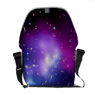 Galaxy Cluster MACS J0717 Outer Space Photo Messenger Bag