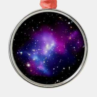 Galaxy Cluster MACS J0717 Outer Space Photo Metal Ornament