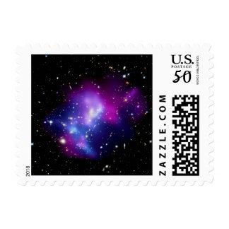 Galaxy Cluster MACS J0717 Outer Space Photo Postage