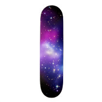 Galaxy Cluster MACS J0717 Outer Space Photo Skateboard Deck