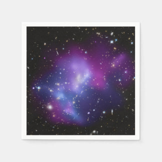 Galaxy Cluster MACS J0717 Paper Napkin