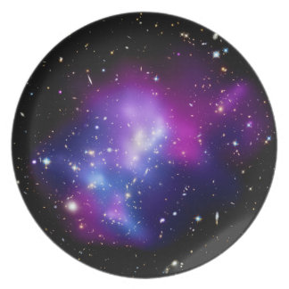 Galaxy Cluster MACS J0717 Party Plate