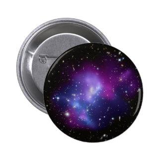 Galaxy Cluster MACS J0717 Pinback Button