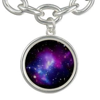 Galaxy Cluster MACS J0717 Charm Bracelet